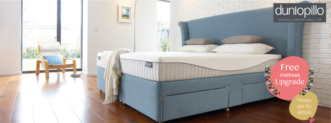 Dunlopillo Mattress Upgrade Offer